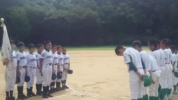 須坂リトルリーグさんとの練習試合