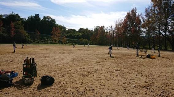 メジャーは金沢に残って練習