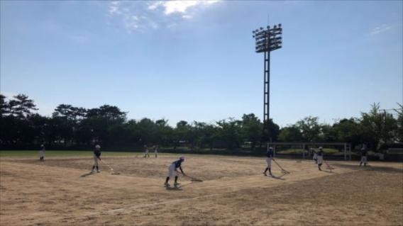 思いっきり野球を楽しめました